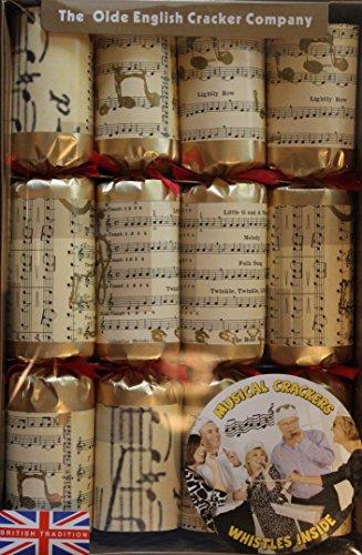 Old english elegant 12 gold musical notes musical crackers pack old english elegant 12 gold musical notes musical crackers pack of 8 create your own solutioingenieria Choice Image
